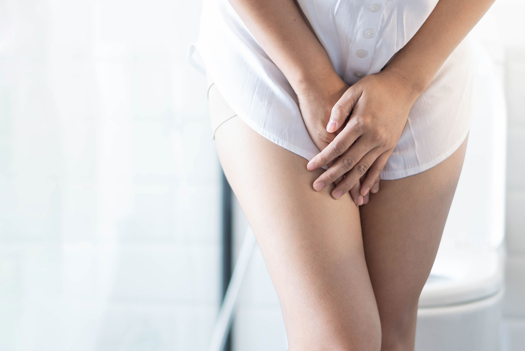 emsella - Woman with urinary problem