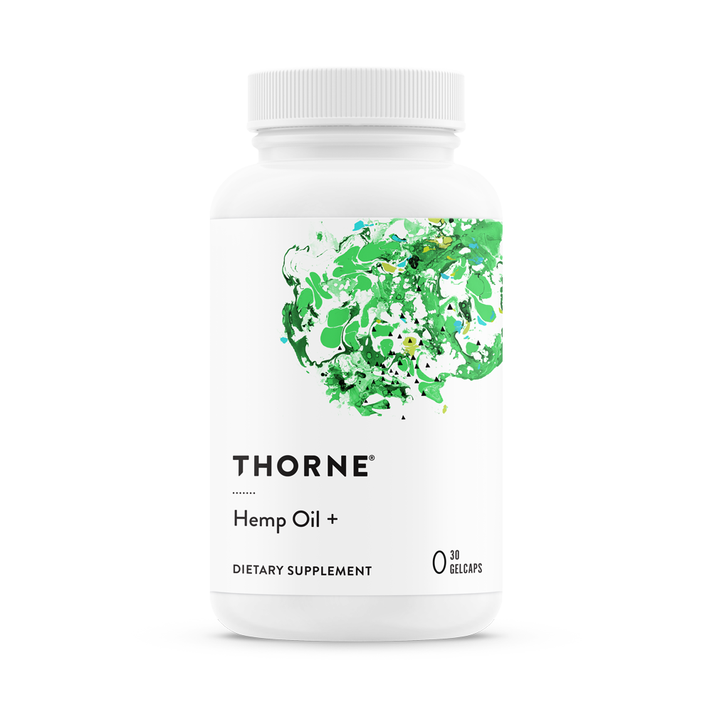 Thorne Hemp Oil
